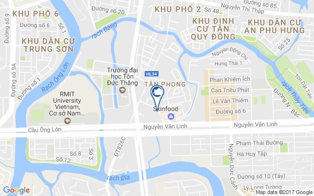 Image result for vị trí Khu căn hộ dịch vụ Nam Sài Gòn - Mapletree